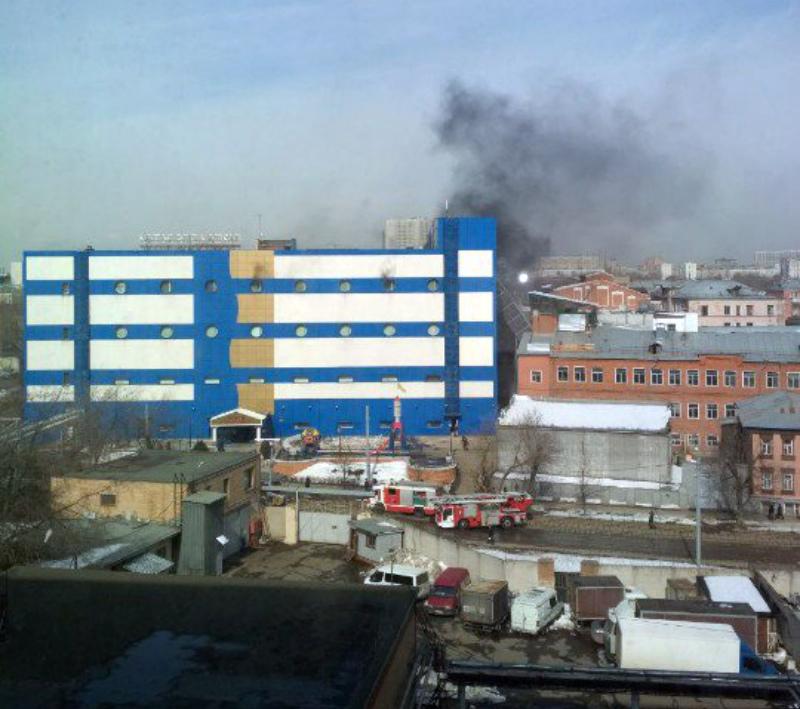 Մոսկվայի «Պերսեյ» առևտրի կենտրոնում հրդեհ է բռնկվել. հարյուրավոր մարդիկ տարհանվել են (տեսանյութ)