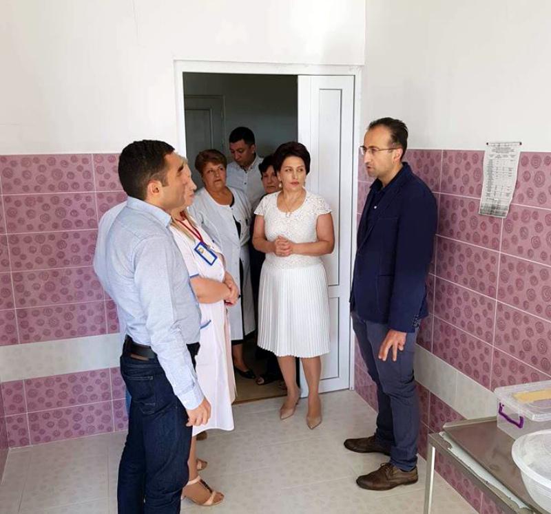 Առողջապահության նախարարը Կոտայքի մարզպետի հետ այցելել է Գառնու առողջության կենտրոն և Աբովյանի բժշկական կենտրոն (լուսանկարներ)