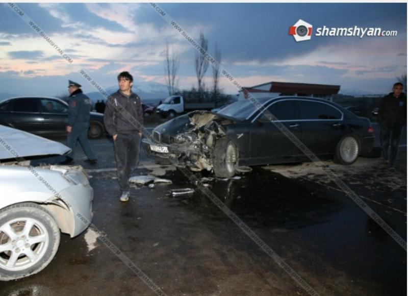 Կոտայքի մարզում խոշոր ավտովթար է տեղի ունեցել.կան վիրավորներ