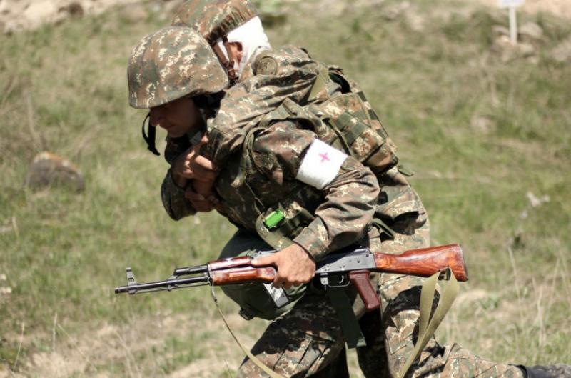 Զորամասերից մեկի հրաձգային գումարտակի հետ անցկացվել է մարտական հրաձգությամբ զորավարժություն
