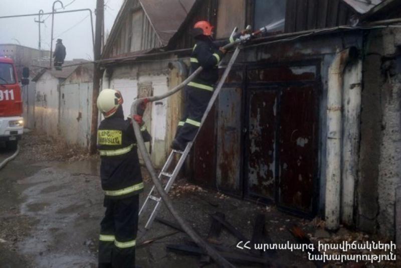 Գյումրիում հրդեհ է բռնկվել. դեպքի վայր է մեկնել 2 մարտական հաշվարկ