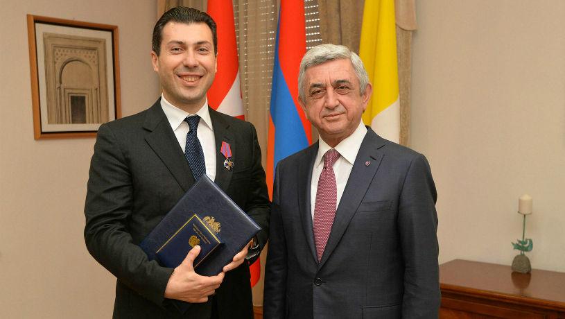 Արմեն Սարգսյանը հրաման է ստորագրել