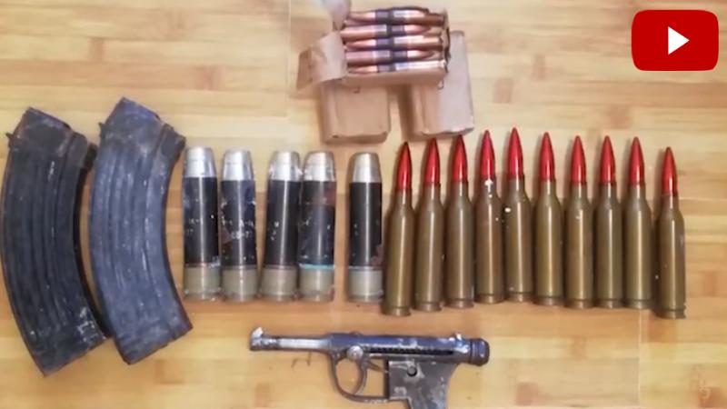 Ինքնաձիգներ, գնդացիր, ատրճանակներ․  մի շարք քաղաքացնիներ հանձնել են ապօրինի զենք-զինամթերքը (տեսանյութ)