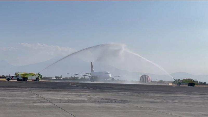 10 տարի ընդհատված Հալեպ–Երևան չվերթը վերականգնվել է. առաջին ինքնաթիռը վայրէջք է կատարել