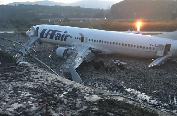 Սոչի ժամանած ուղևորատար ինքնաթիռը վթարային վայրէջք կատարելուն պես սկսել է այրվել. մանրամասներ