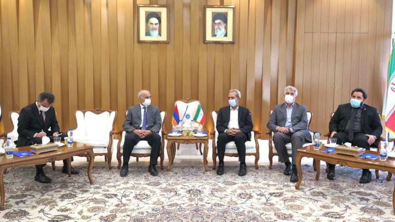 ՀՀ դեսպանության և Իրանի առևտրի պալատի միջև համաձայնություն է ձեռք բերվել համատեղ միջոցառումների շուրջ