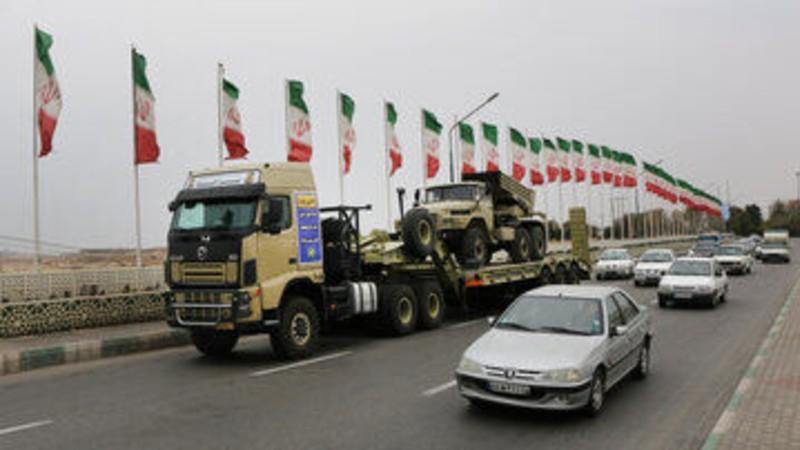Իրանի բանակը զրահատեխնիկա է տեղափոխել դեպի հյուսիս-արևմտյան սահմաններ. IRNA-ն լուսանկարներ է հրապարակել