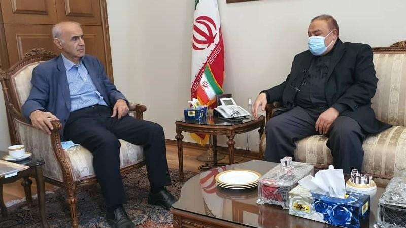 Դեսպան Արտաշես Թումանյանը հանդիպում է ունեցել Իրանի ԱԳ նախարարի տեղակալի հետ