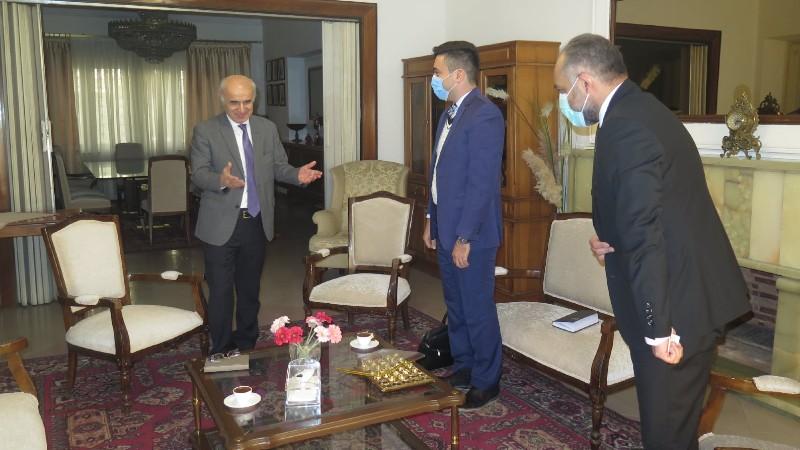 Իրանական ընկերության տնօրենը ՀՀ դեսպանին ներկայացրել է Հայաստանում տնտեսական գործունեություն սկսելու իր ծրագրերը