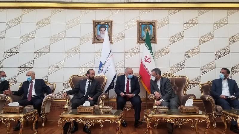 Ընթանում է Հայաստանի և Իրանի ԱԳ նախարարների հանդիպումը