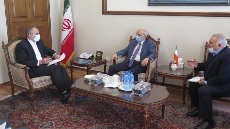Իրանում ՀՀ դեսպանը Իրանի բարձրաստիճան պաշտոնյայի հետ քննարկել է տնտեսական հարաբերությունների զարգացման նոր միտումները