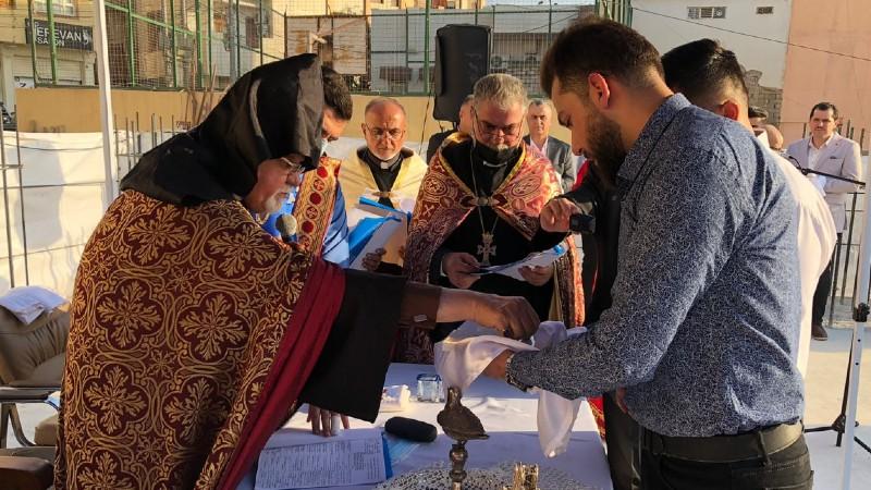 Իրաքյան Քուրդիստանի Զախո քաղաքում տեղի է ունեցել հայկական եկեղեցու հիմնարկեք