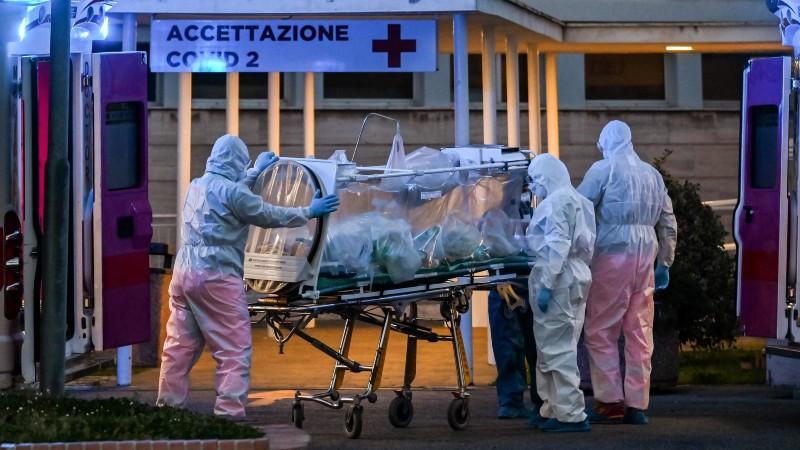Վերջին 24 ժամում  Իտալիայում արձանագրվել գրանցել է վիրուսի 6557 նոր դեպք