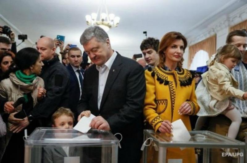 Պորոշենկոն քվեարկել է Ուկրաինայի նախագահական ընտրություններին