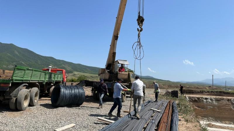 Արցախի Իվանյան համայնքում շինարարական աշխատանքներն ակտիվ ընթացքի մեջ են (լուսանկարներ)