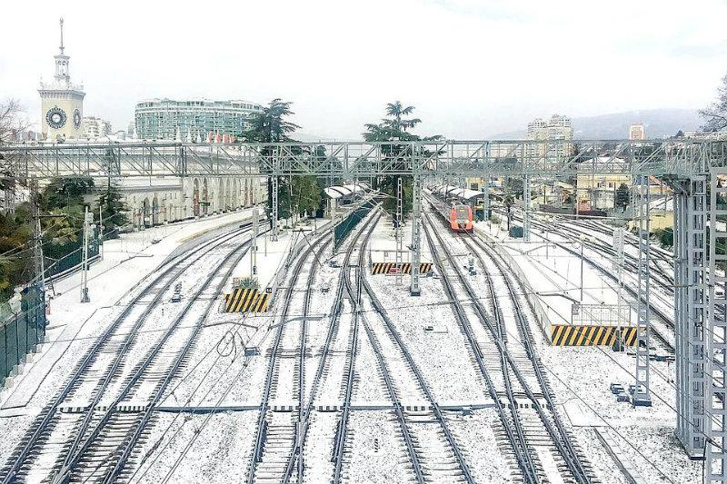 Սոչիում տեղացել է առաջին ձյունը (տեսանյութ)