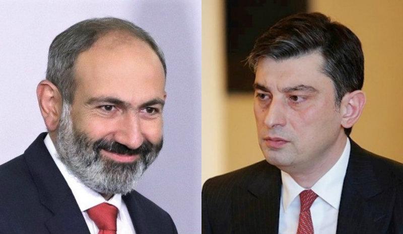 ՀՀ վարչապետը հեռախոսազրույց է ունեցել Վրաստանի նորանշանակ վարչապետի հետ
