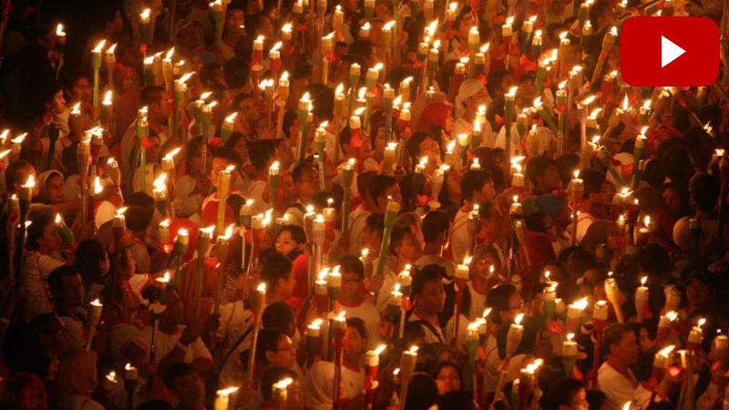 Մեկնարկել է Ցեղասպանության զոհերի հիշատակին նվիրված ջահերով երթը (ուղիղ միացում)