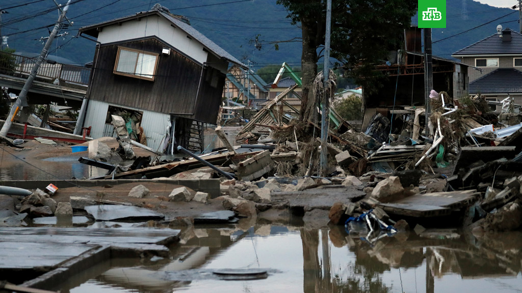 Ճապոնիայում ջրհեղեղ դարձած անձրևների հետևանքով 134 մարդ է զոհվել, 100-ավոր կորածներ կան