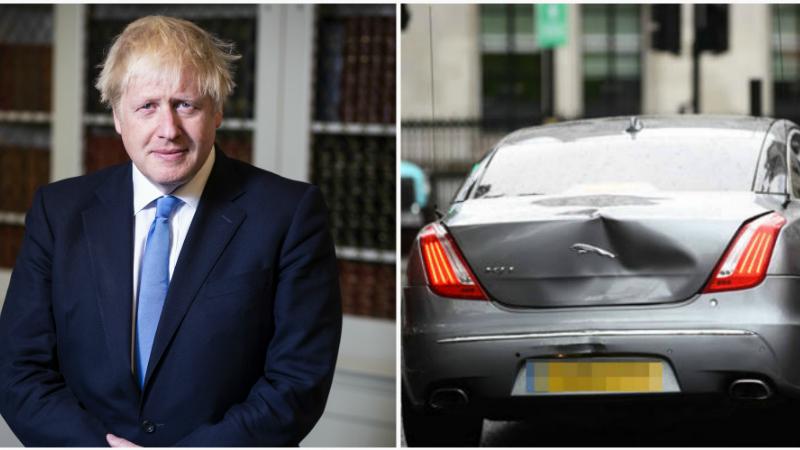 Մեծ Բրիտանիայի վարչապետին տեղափոխող մեքենան Լոնդոնի կենտրոնում վթարի է ենթարկվել
