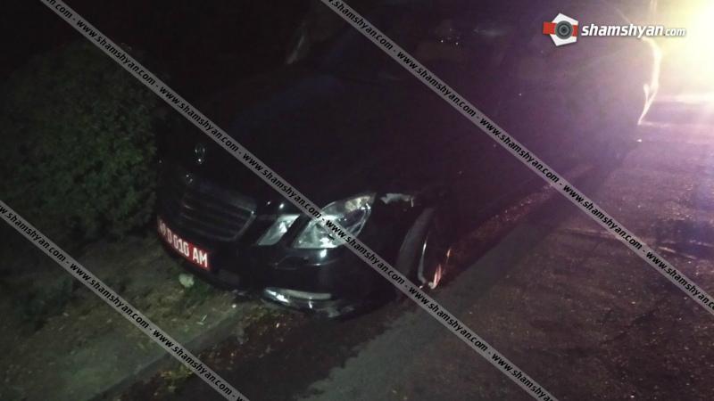 ՃՈ-ն պարզում է Երևանում դիվանագիտական համարանիշներով վթարի մասնակից Mercedes-ի վարորդի ինքնությունը