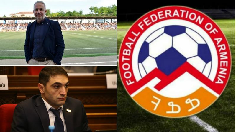 Հակոբ Սիմիդյանը և Դենիս Ջորկաեֆը նշանակվել են ՀՖՖ նախագահի խորհրդականներ
