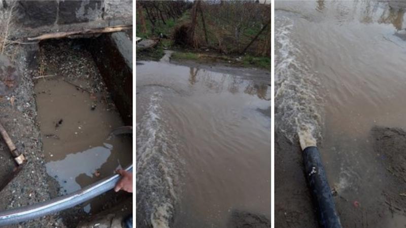 Փրկարարները տան նկուղից մոտ 8 տոննա անձրևաջուր են հեռացրել. ԱԻՆ
