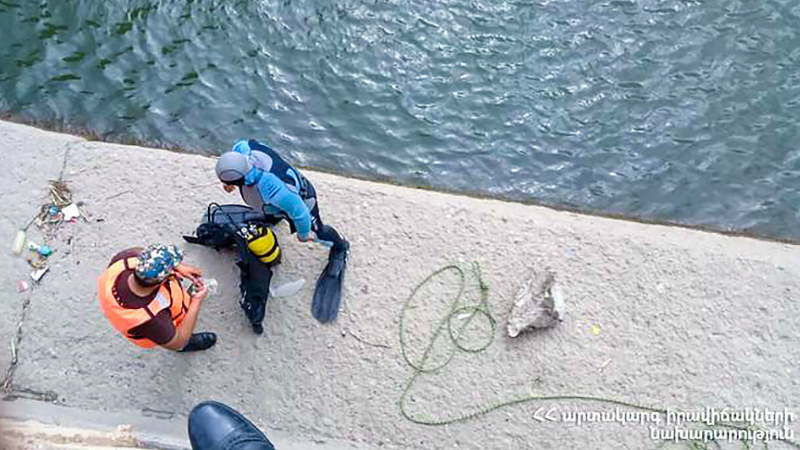 Ահազանգ ԱԻՆ-ում․ քաղաքացին ընկել է Արագածավան-Արտենի ջրանցքը