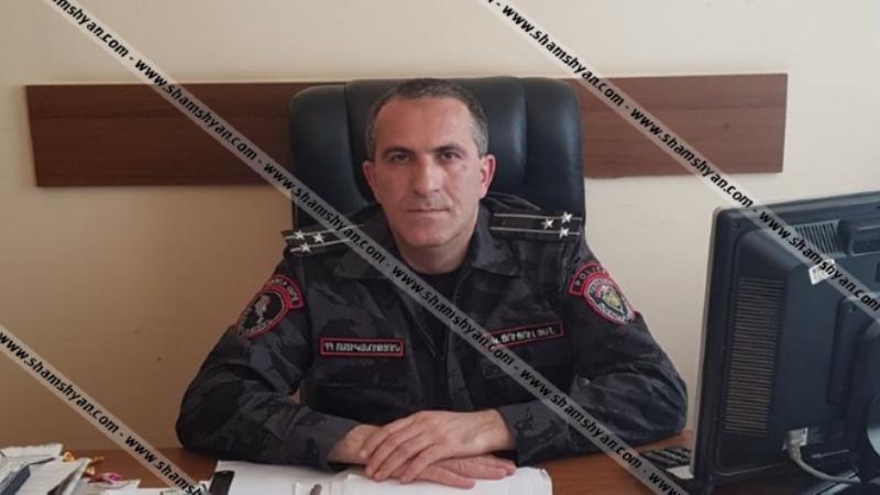 Կամո Ցուցուլյանը նշանակվել է ՀՀ ոստիկանության պետի տեղակալ