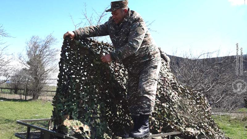 1-ին զորամիավորման կապի ստորաբաժանումների զինծառայողներն անցկացրել են վարժանքներ