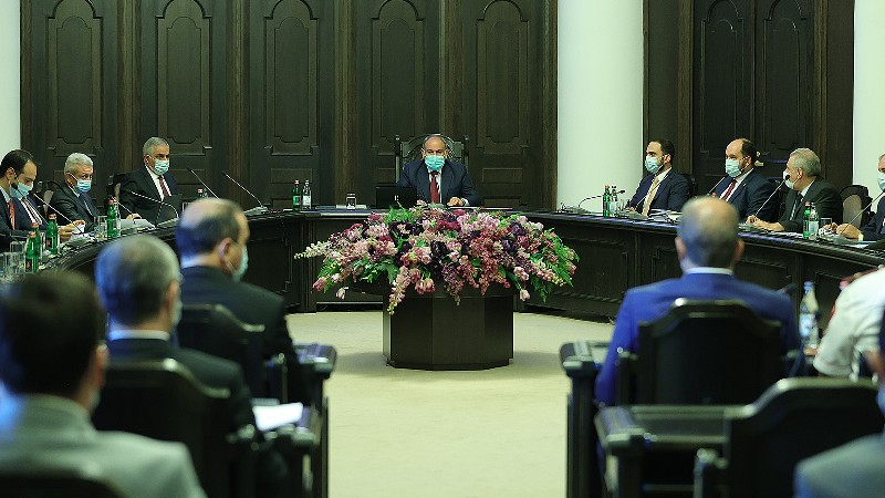 Կառավարության հուլիսի 15-ի հերթական նիստը (ուղիղ միացում)