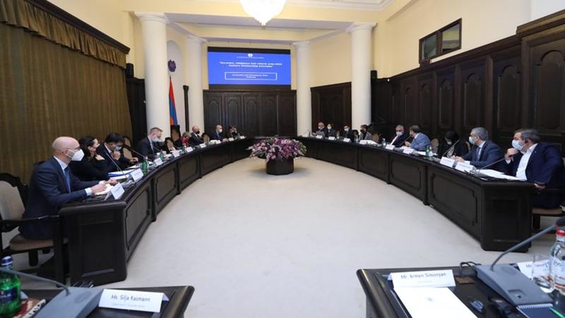 Կառավարությունում քննարկվել են ԵՄ աջակցության փաթեթի ներքո Կառավարության կողմից մշակված ծրագրերը