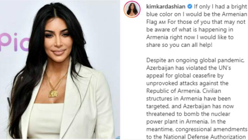 Կոնգրեսը հաջորդ շաբաթ քննարկելու է Ադրբեջանին սպառազինությունների մատակարարումը և ռազմական աջակցությունն արգելելու օրինագիծը․ Քիմ Քարդաշյանը կրկին կոչ է արել աջակցել Հայաստանին