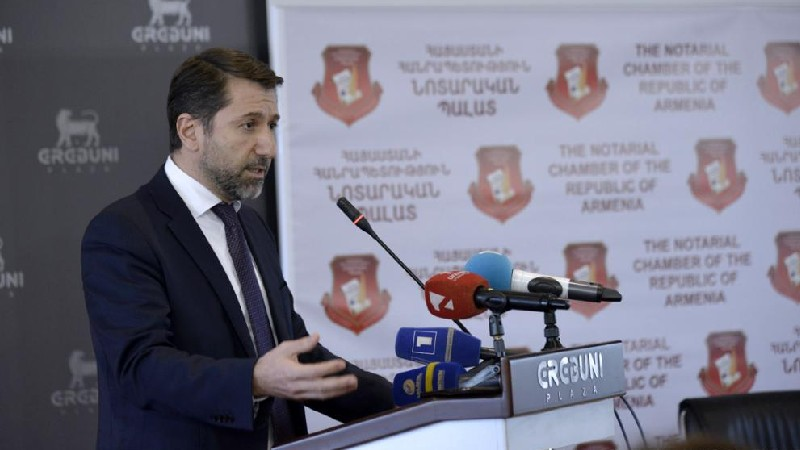 Նոտարիատը Հայաստանի ամենակայացած ինստիտուտներից է․ Կարեն Անդրեասյան