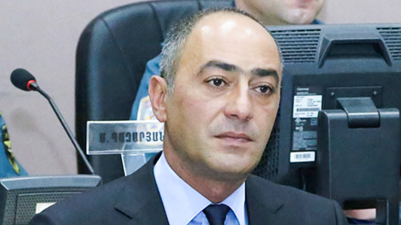 Դատարանը մերժել է ՊԵԿ ներքին անվտանգության վարչության նախկին պետ Կարեն Խաչատրյանին 225 մլն դրամի գրավի դիմաց ազատ արձակելու մասին միջնորդությունը