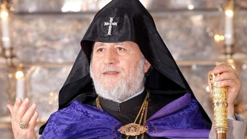 Կաթողիկոսը մեկնել է Մոսկվա