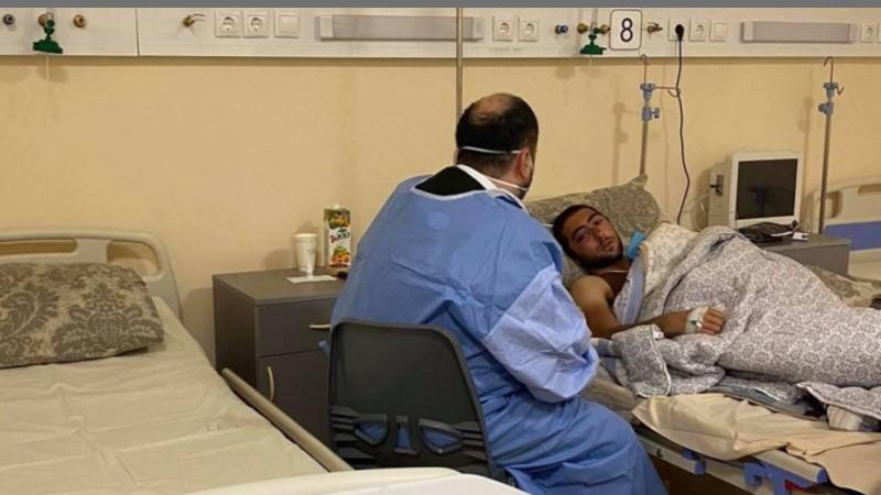 ԿԳՄՍ նախարարը զրուցել է վիրավորների և հոսպիտալում գտնվող նրանց ծնողների հետ