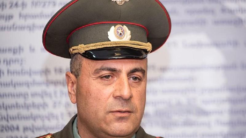 Վազգեն Սարգսյանի անվան ռազմական համալսարանի պետը պաշտոնից ազատվել է