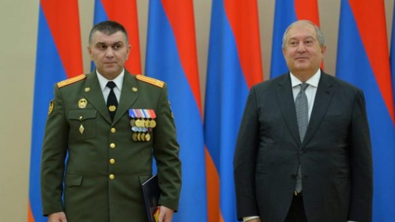 Գրիգորի Խաչատուրովն ազատվել է 3-րդ բանակային կորպուսի հրամանատարի պաշտոնից․ նախագահը որոշում է ստորագրել