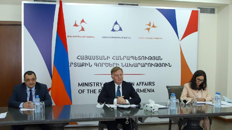 Քաղաքական խորհրդակցություններ Հայաստանի և Շվեյցարիայի ԱԳ նախարարությունների միջև. քննարկվել են երկկողմ օրակարգի հարցերի լայն շրջանակ