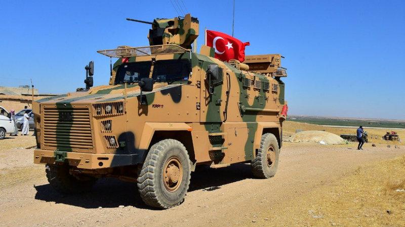 Փարիզում ակցիա է իրականացվում ընդդեմ Սիրիայում Թուրքիայի ռազմական օպերացիայի