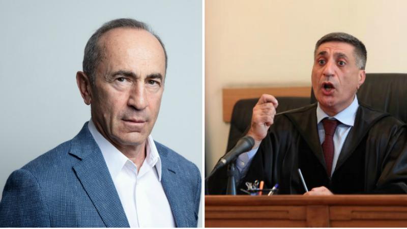 Քոչարյանի պաշտպաններ բողոքը մակագրվել դատավոր Արմեն Դանիելյանին
