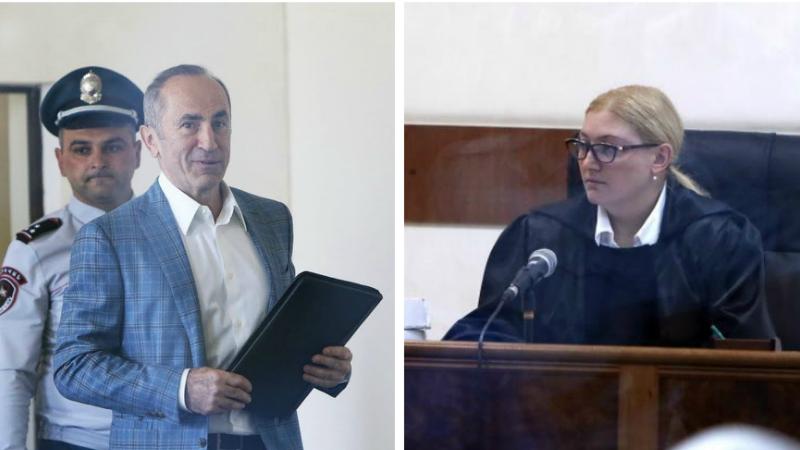 Դատավորը մերժեց Ռոբերտ Քոչարյանի պաշտպանների՝ իրեն ներկայացված բացարկի միջնորդությունը