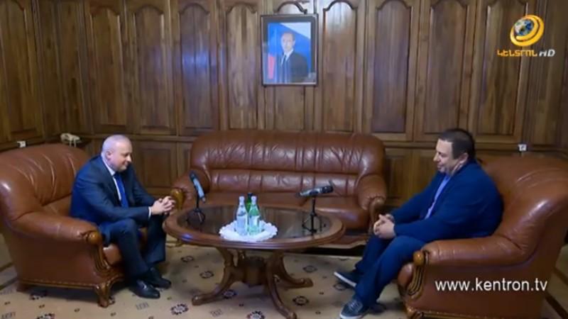 ՀՀ-ում ՌԴ դեսպանատանը կայացել է Կոպիրկին-Ծառուկյան հանդիպումը (տեսանյութ)