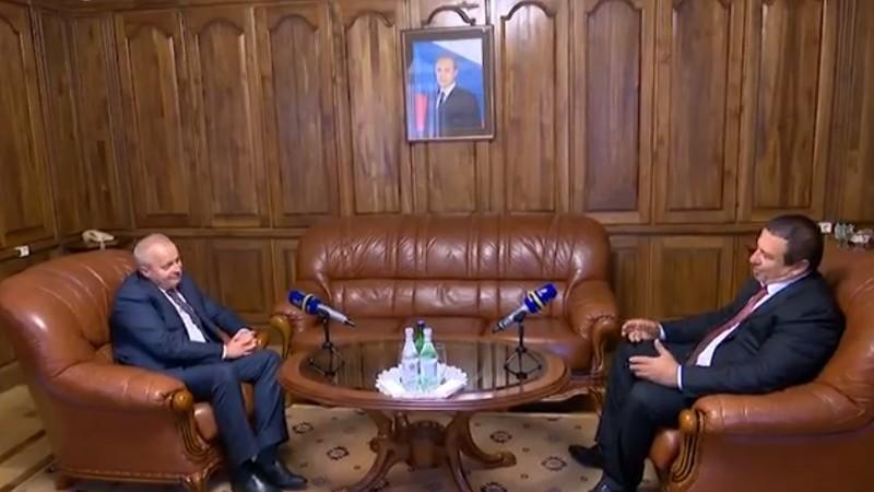 Գագիկ Ծառուկյանը հանդիպել է ՌԴ դեսպան Սերգեյ Կոպիրկինի հետ (տեսանյութ)