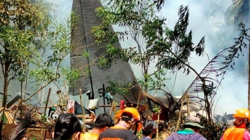 Ֆիլիպիններում ռազմական ինքնաթիռի կործանման հետևանքով առնվազն 17 մարդ է զոհվել