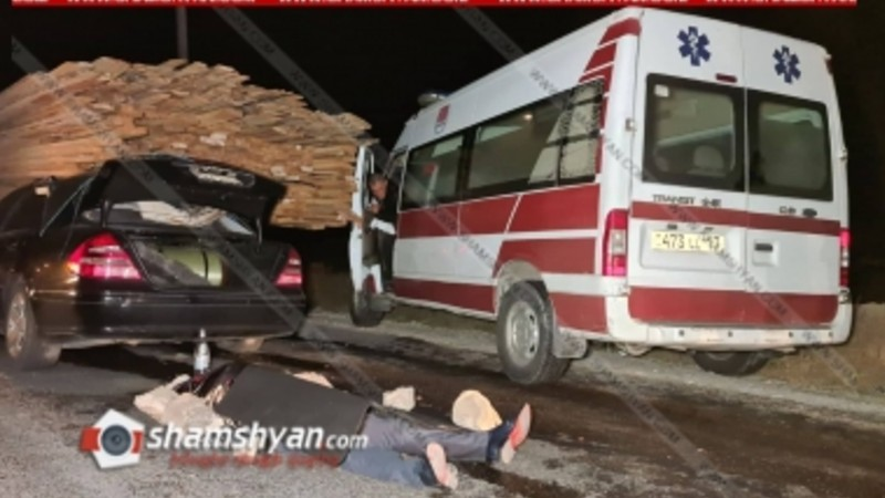 Ողբերգական ավտովթար Կոտայքի մարզում. փրկարարները ավտոմեքենայից դուրս են բերել վարորդի դին