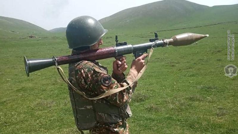 1-ին զորամիավորման զորամասերից մեկի զինծառայողների ներգրավմամբ, անցկացվել է գործնական պարապմունք՝ մարտական հրաձգությամբ