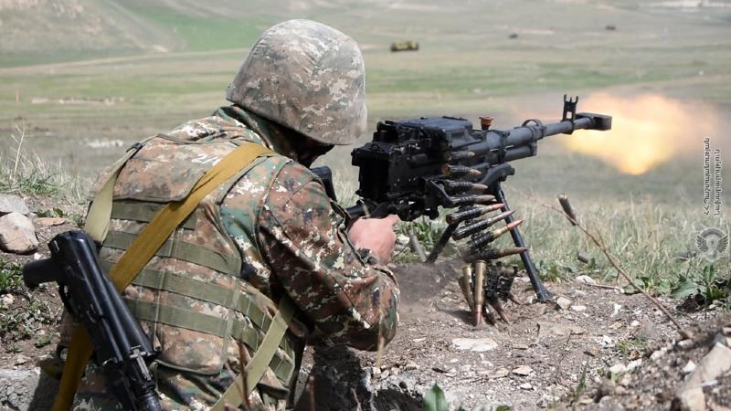 2-րդ զորամիավորման զորավարժարաններից մեկում անցկացվել է վաշտային մարտավարական զորավարժություն՝ մարտական հրաձգությամբ