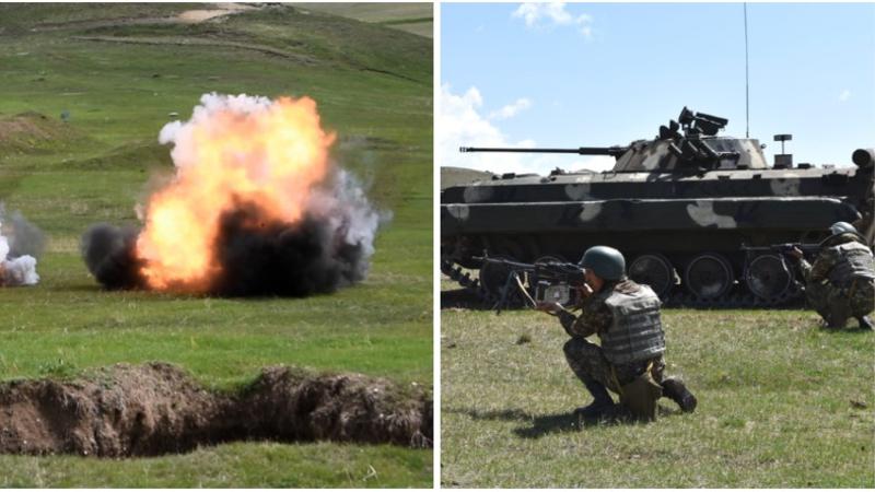 2-րդ զորամիավորումում անցկացվել է մարտական հրաձգությամբ գումարտակային մարտավարական զորավարժություն (լուսանկարներ)